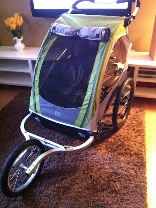 Who needs a jogger, stroller AND bike trailer when you can have all in one?