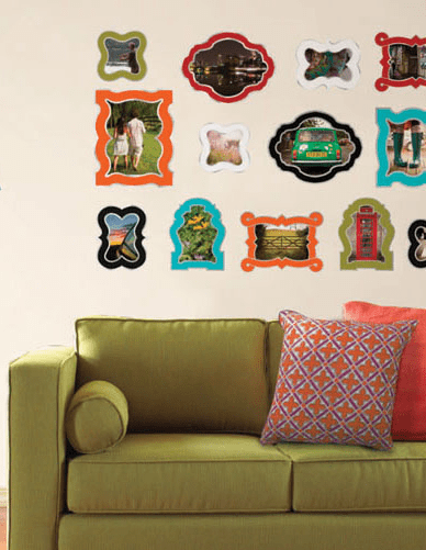 WallPops by Jonathan Adler Enamel Frames Wall Art Kit. Approx. $42.99.