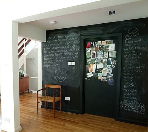 Making Black/Chalkboard Paint Work For You (Room Inspiration ...