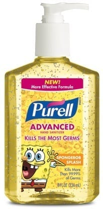 Purell Advanced Spongebob Splash